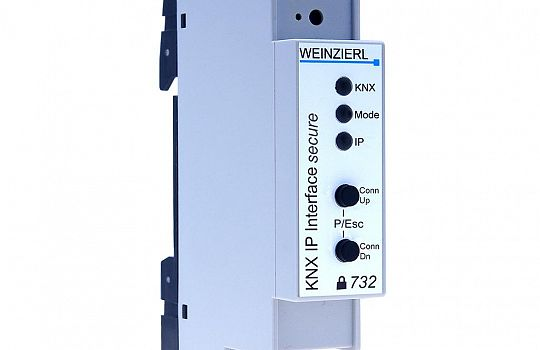 Weinzierl knx ip interface 732 secure